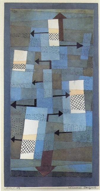 Klee équilibre chancelant 1922